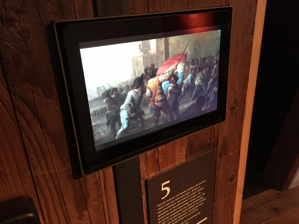 Commercial tablets voor Historisch Museum Den Briel